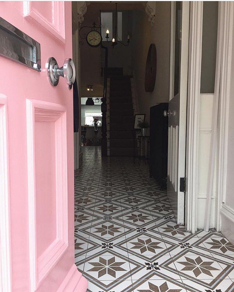 Farrow & Ball Nancy's Blushes Pink Front Door