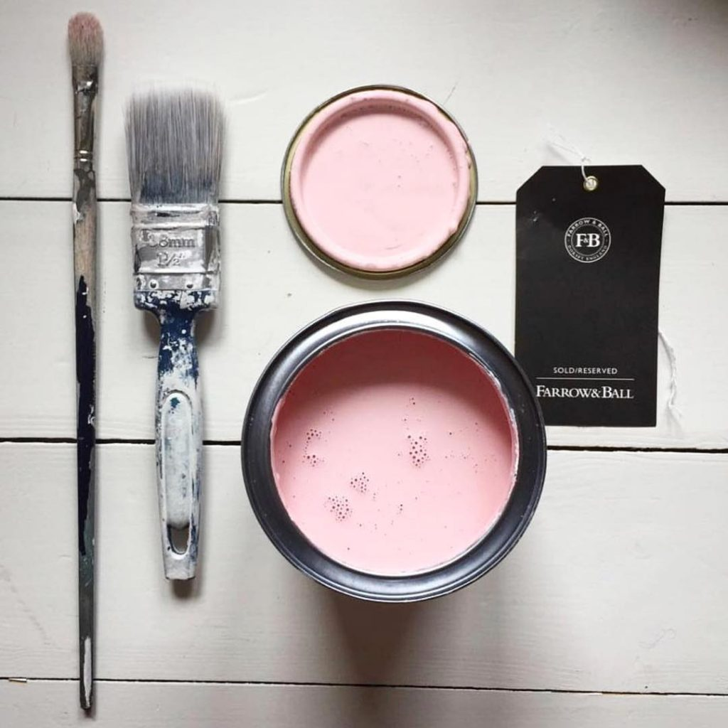Farrow & Ball Nancy's Blushes Pink Paint