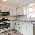 Sherwin Williams Sea Salt Painted Kitchen Cabinets