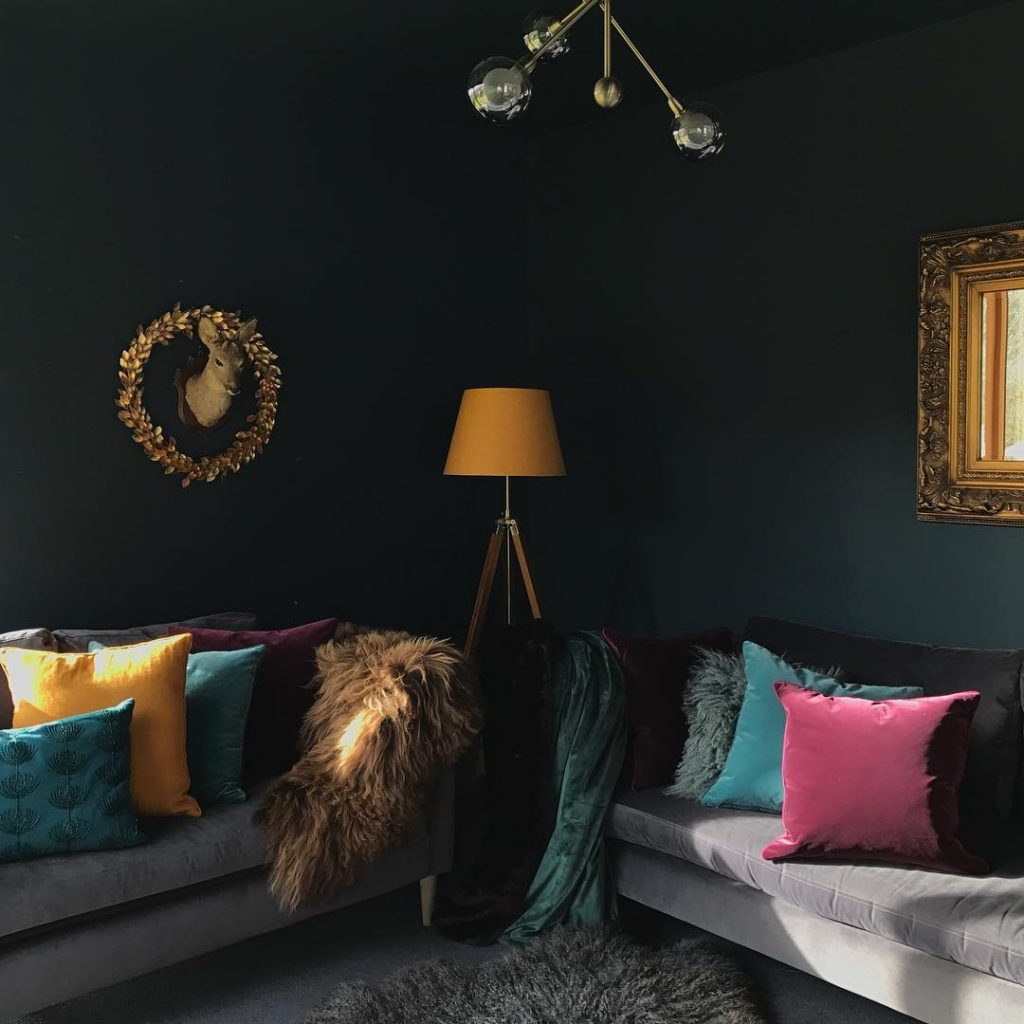Valspar Cadet Song Paint Color for the Living Room