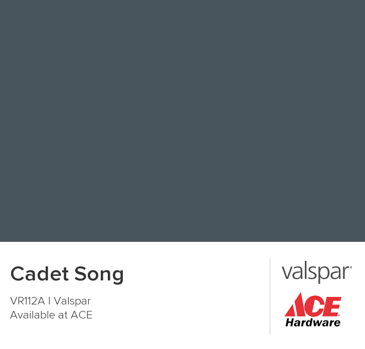 Valspar Cadet Song Paint Color