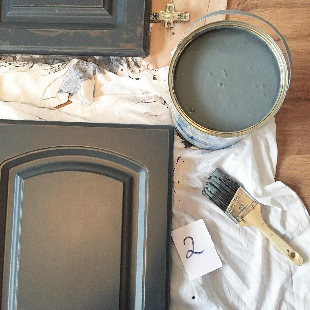 Pics Of Painted Kitchen Cabinets