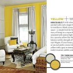 Yellow and White Paint Color Palette