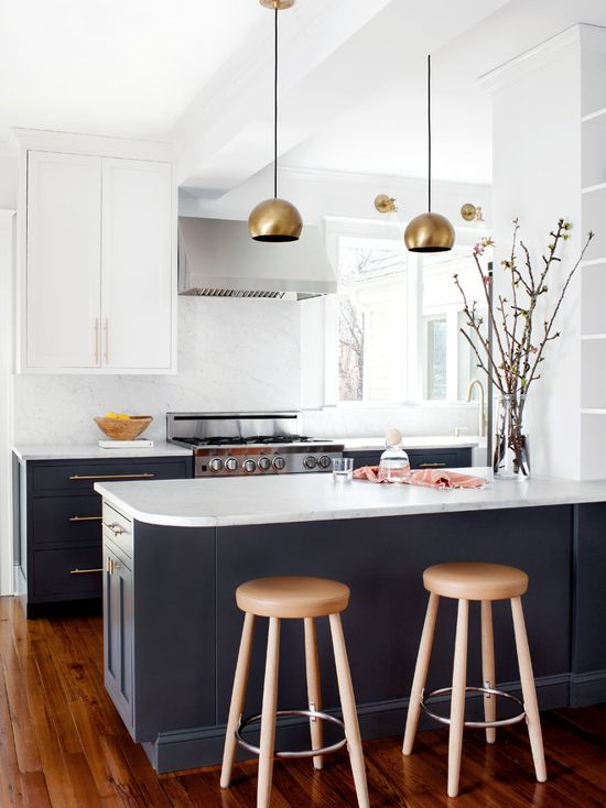 Black And White Kitchen Color Scheme Interiors By Color