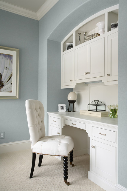 Benjamin Moore Summer Shower Light Blue Paint Color