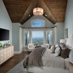 Sherwin Williams Comfort Gray Bedroom. Gray bedroom walls paint color scheme.