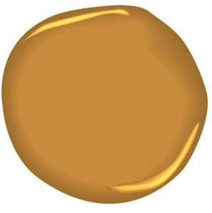 Benjamin Moore Dash of Curry Paint