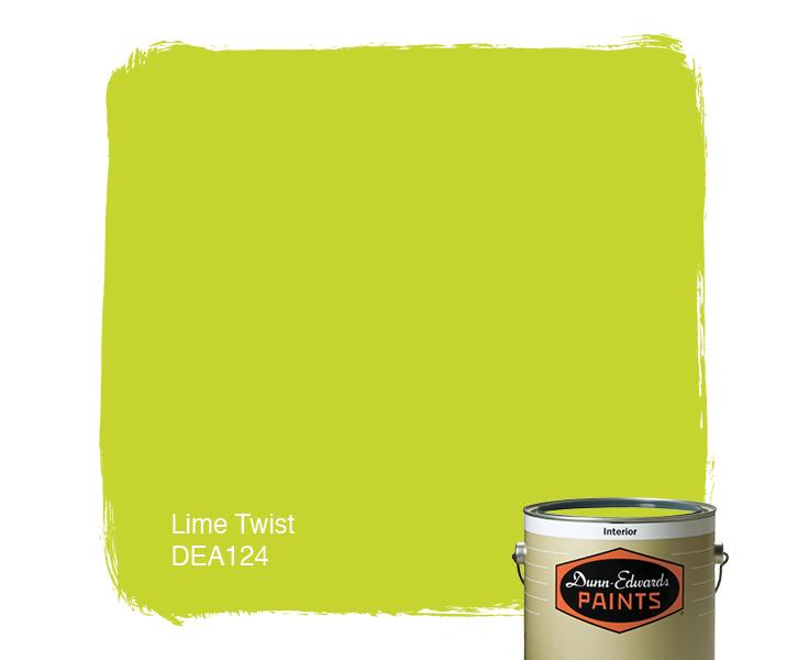 Dunn Edwards Lime Twist