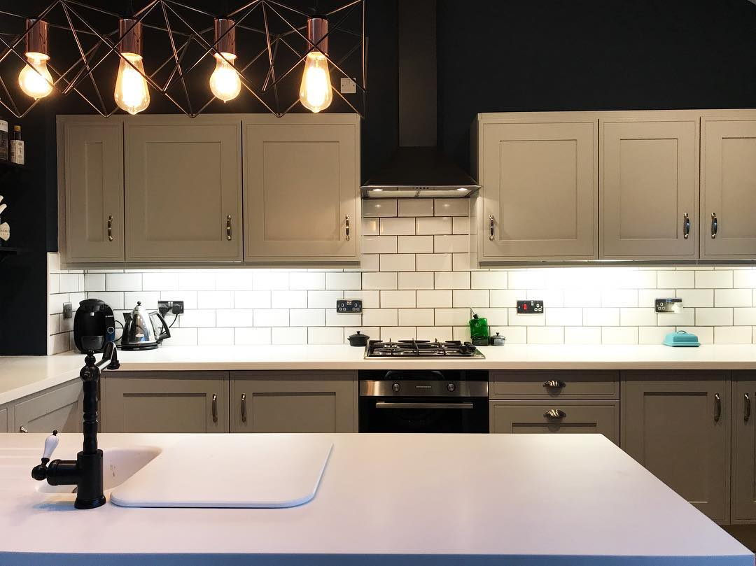 Farrow & Ball Hague Blue Kitchen Navy Color Scheme