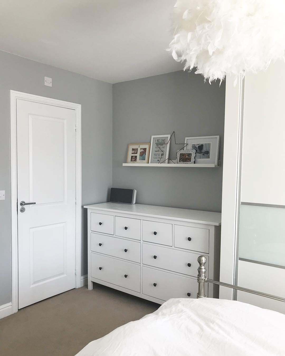 Dulux Most Popular Grey Paint Colours. Bedroom walls ...