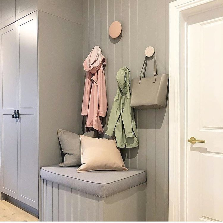 Dulux Flooded Gum paint color popular gray.