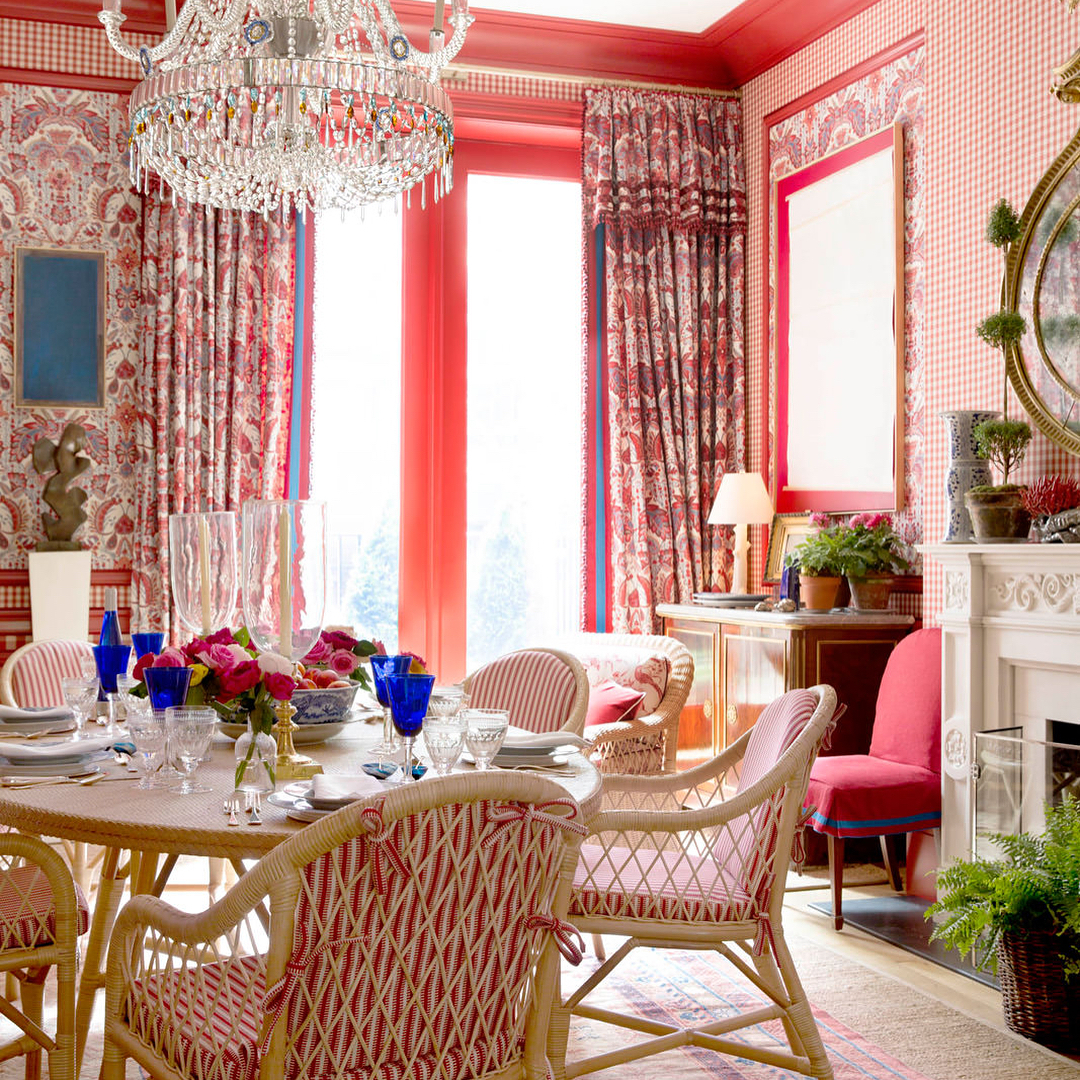 Interior designer mark d sikes interiors by color for Interior design color planner
