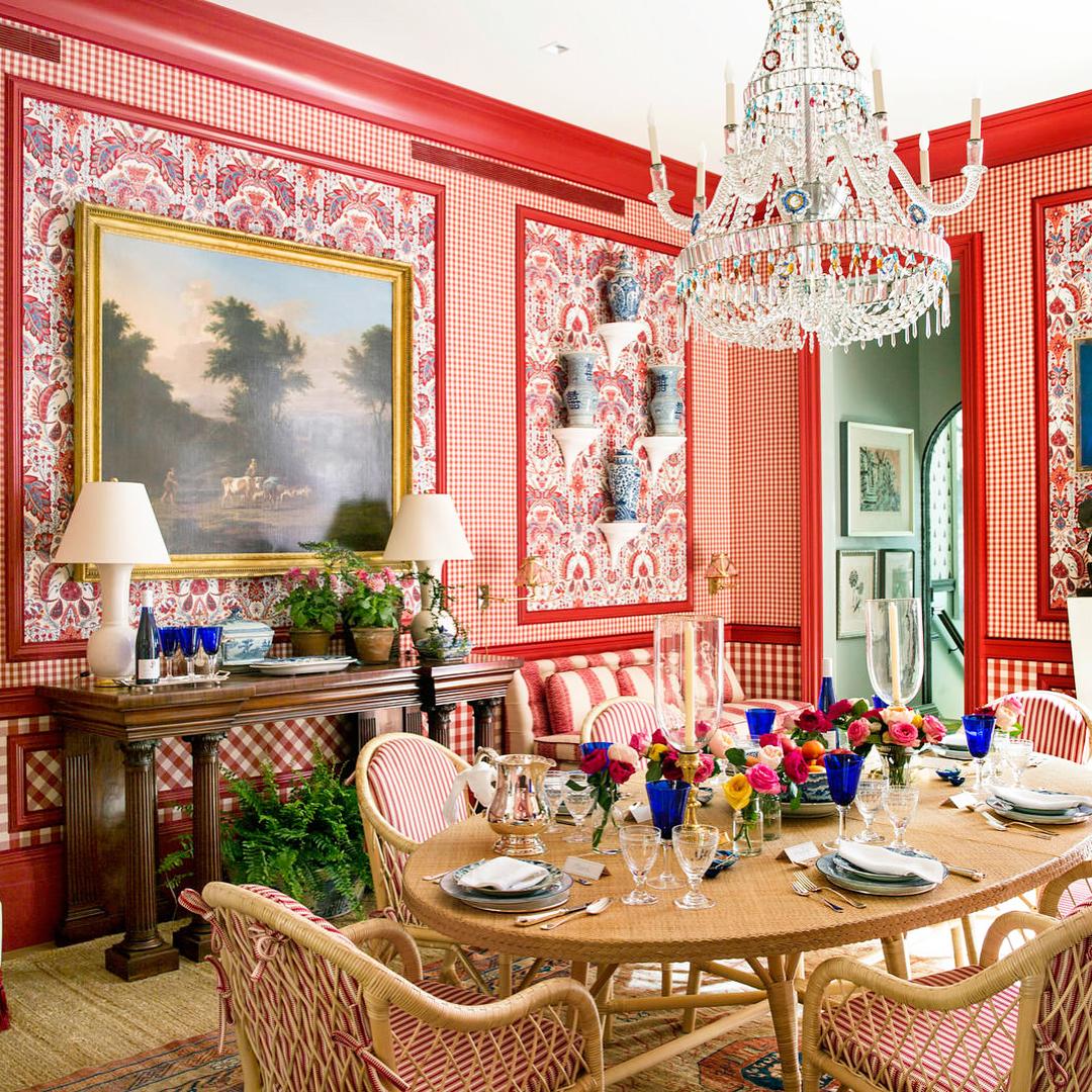 Blue Gray Dining Room Decor