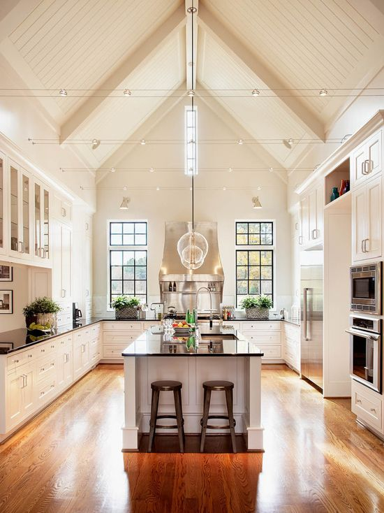Traditional Kitchen In White Pained In Sherwin Williams