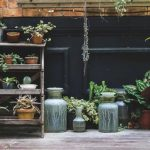 Small patio ideas pots