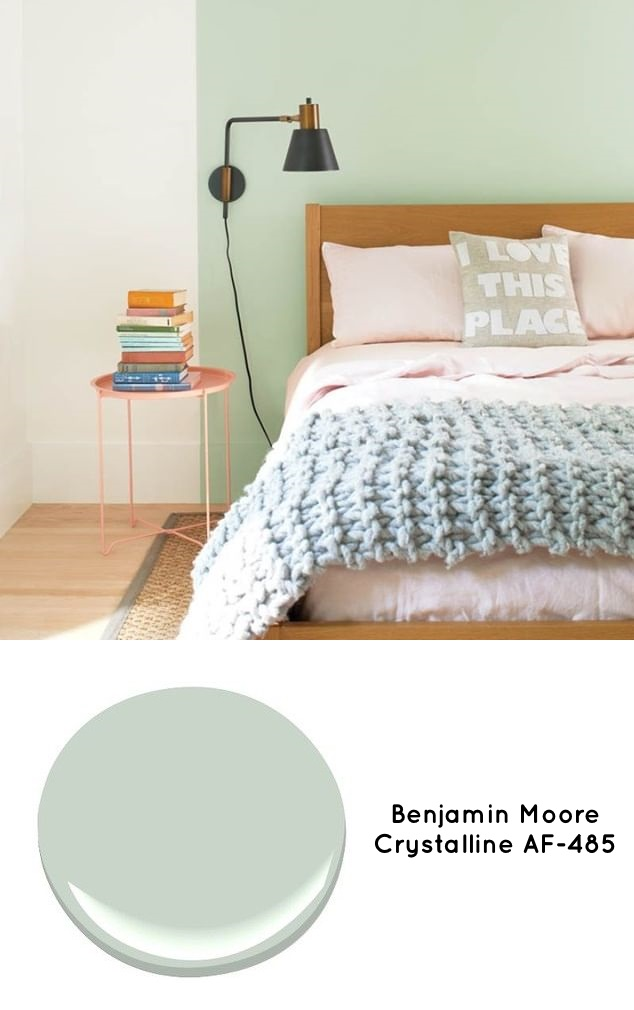 Benjamin Moore Crystalline Green Paint Color