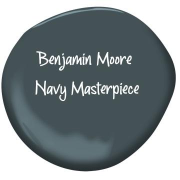 Benjamin Moore Navy Masterpiece