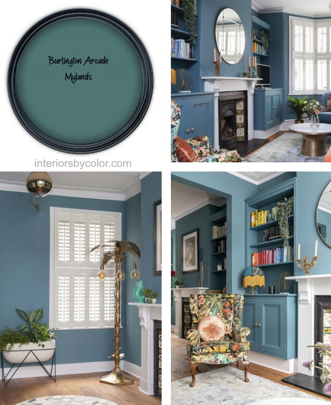 Burlington Arcade Mylands Paint Color 2020