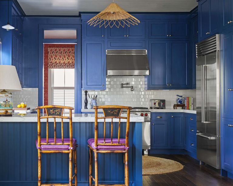 Kitchen trend 2020 Farrow & Ball Hague Blue