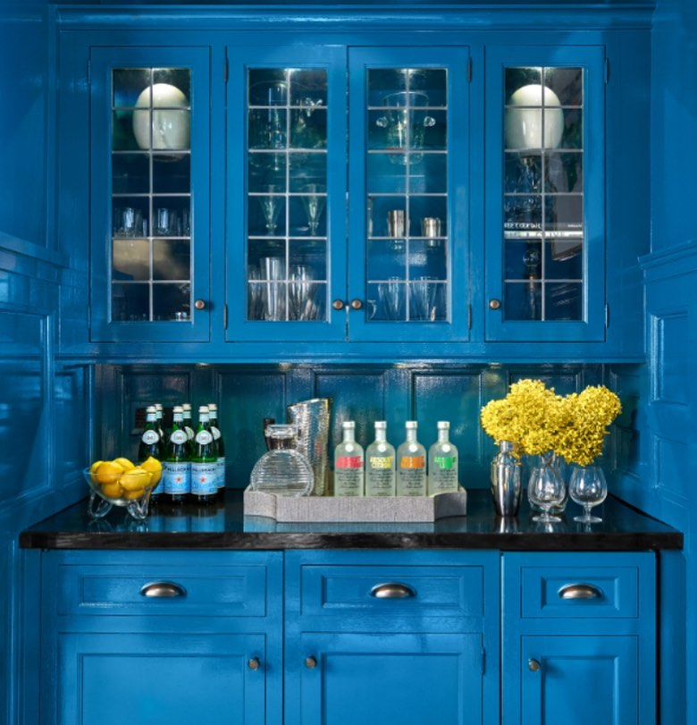 Pantone's Color of the Year is Classic Blue kitchen