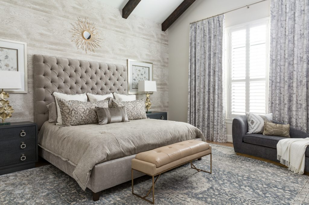 Traditional bedroom neutral color palette 2020