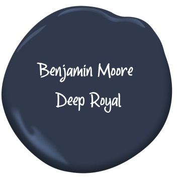 Benjamin Moore Deep Royal