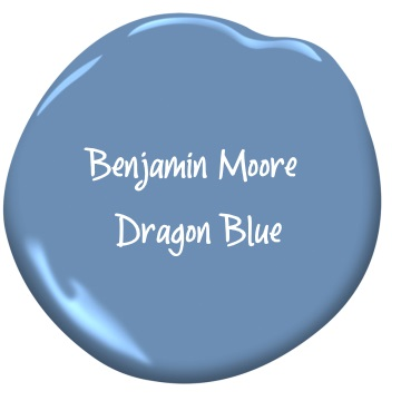 Benjamin Moore Dragon Blue
