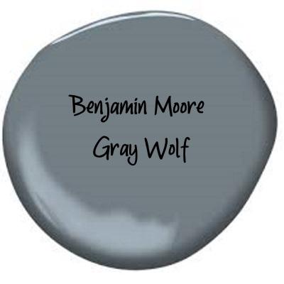 Benjamin Moore Gray Wolf