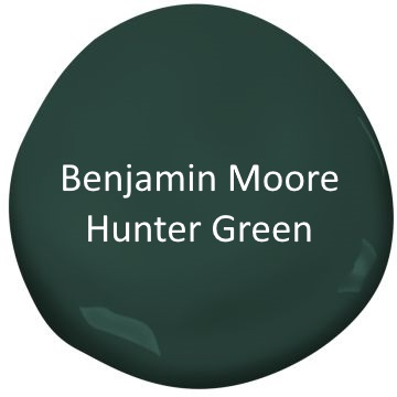 Benjamin Moore Hunter Green