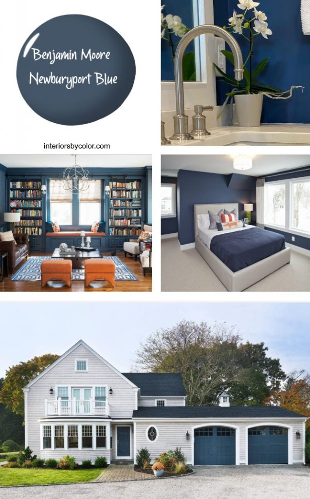 Benjamin Moore Newburyport Blue Paint 2020