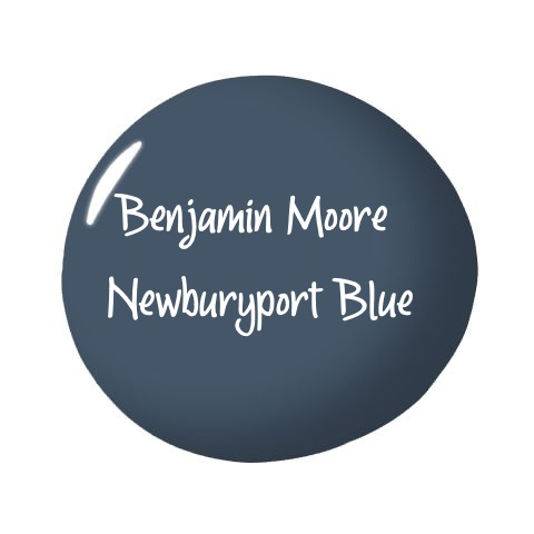 Benjamin Moore Newburyport Blue