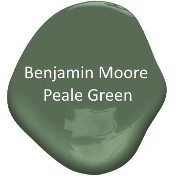 Benjamin Moore Peale Green