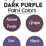 Benjamin Moore Purple Paint Colors