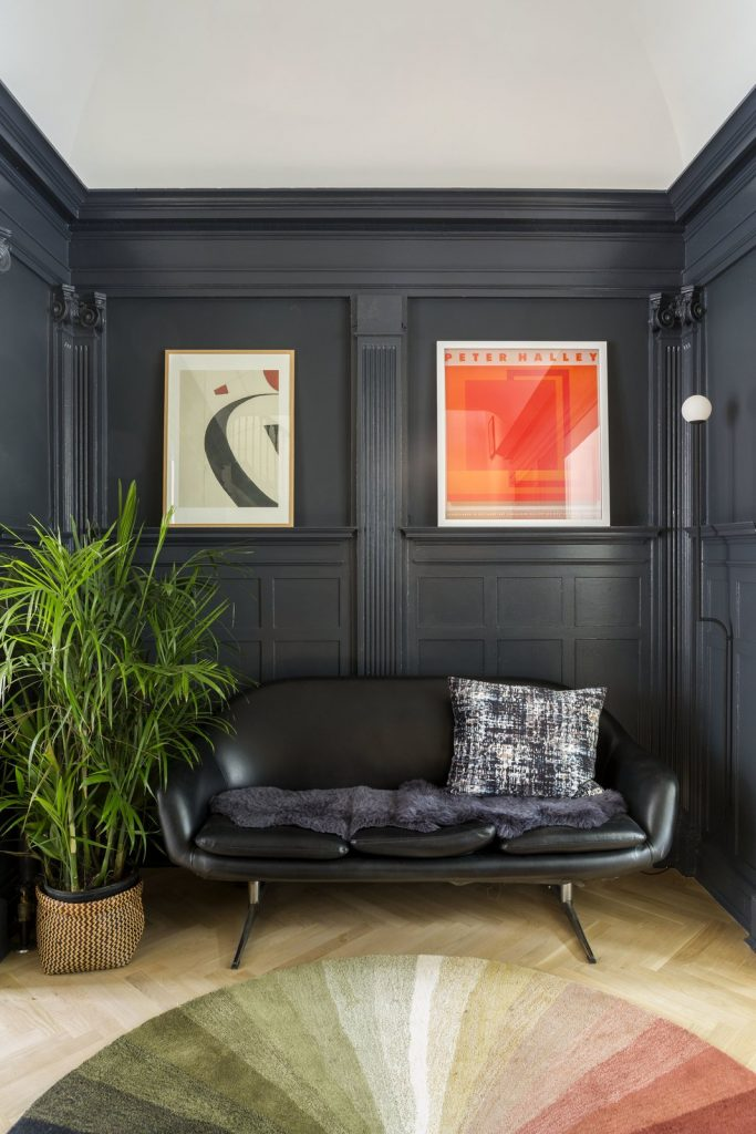 Benjamin Moore Witching Hour gray wall color