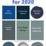 Blue Paint Colors for 2020