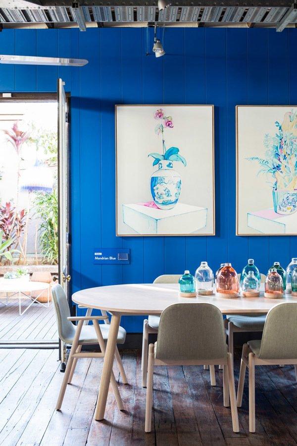 Dulux Mondrian Blue