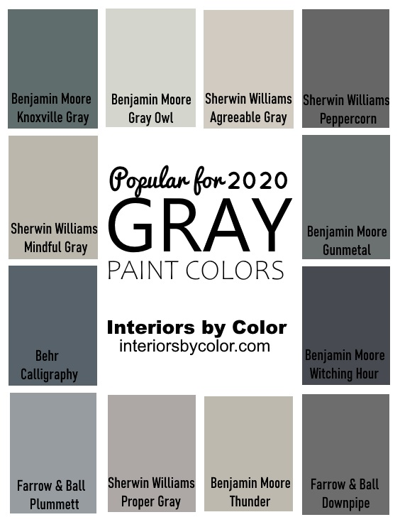 Benjamin Moore Iron Mountain - Interiors By Color (1 ...