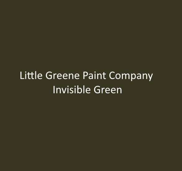 Little Greene Paint Company Invisible Green