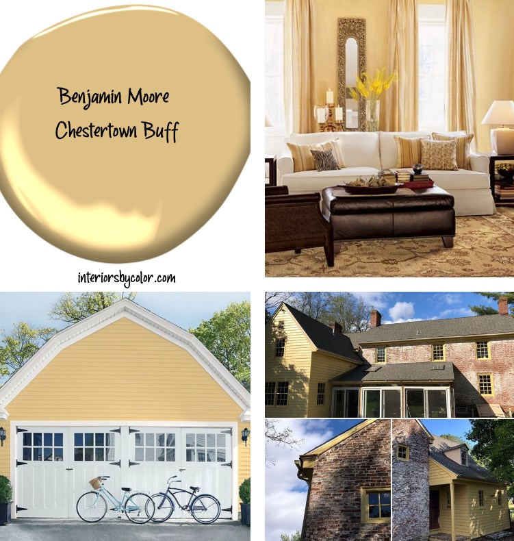 Benjamin Moore Chestertown Buff