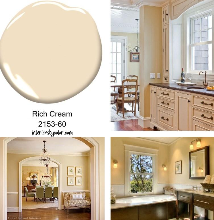 Benjamin Moore Rich Cream.