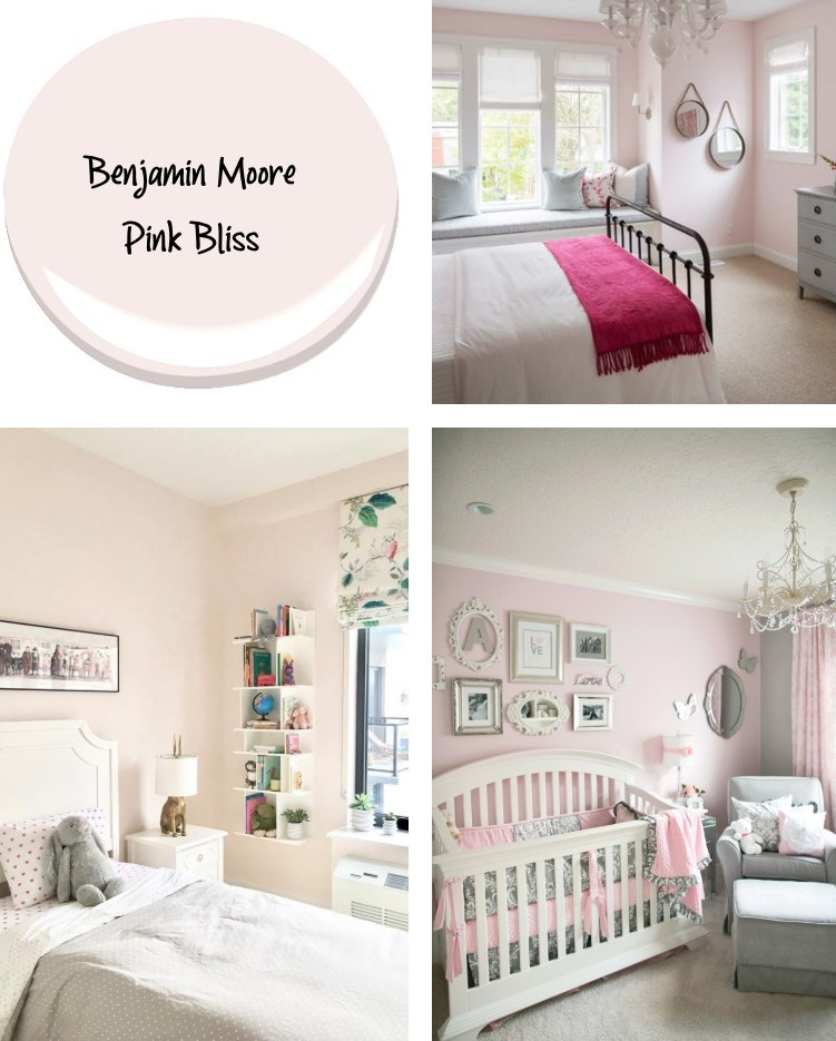 Benjamin Moore Pink Bliss paint color trend