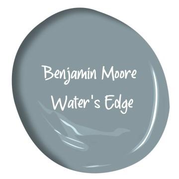 Benjamin Moore Water's Edge