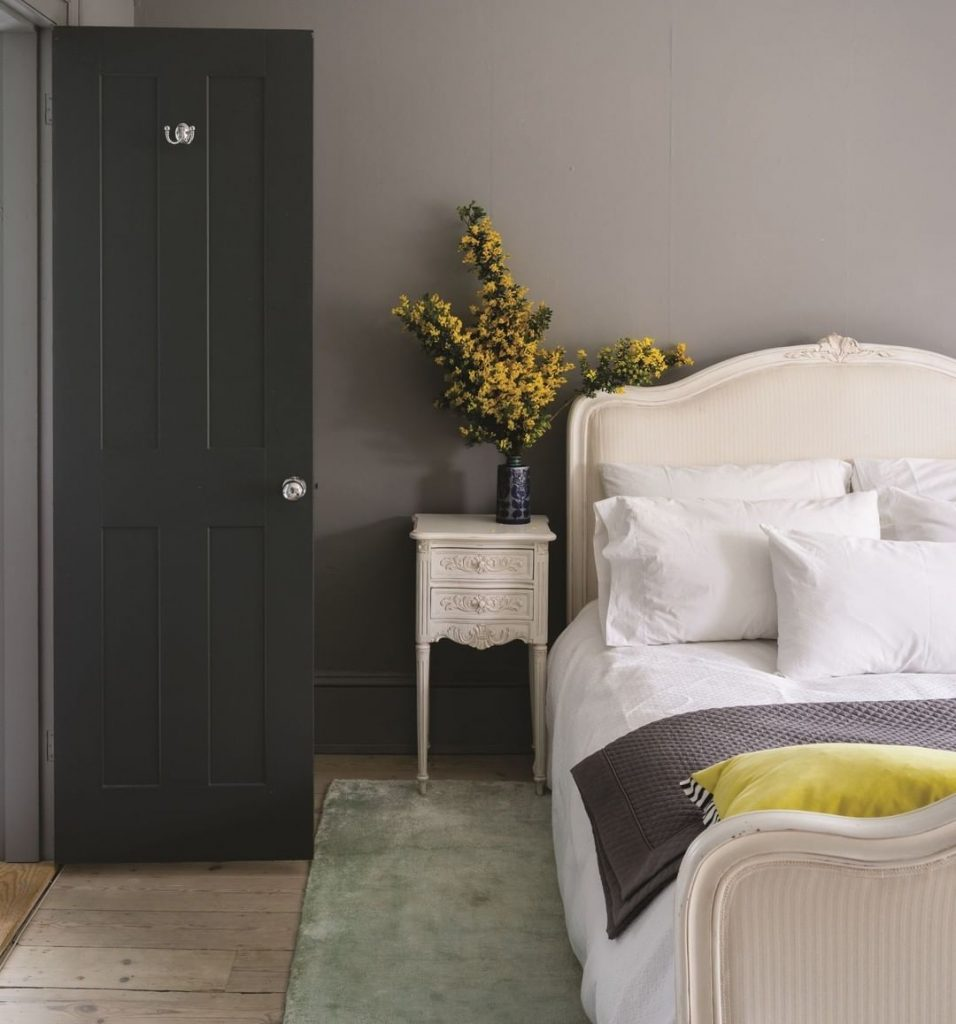 Best gray paint colors for bedroom Farrow & Ball