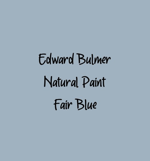 Edward Bulmer Paint Fine Blue