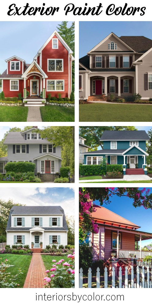 Exterior paint colors 2020