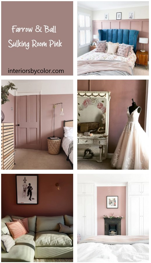 Farrow & Ball Sulking Room Pink