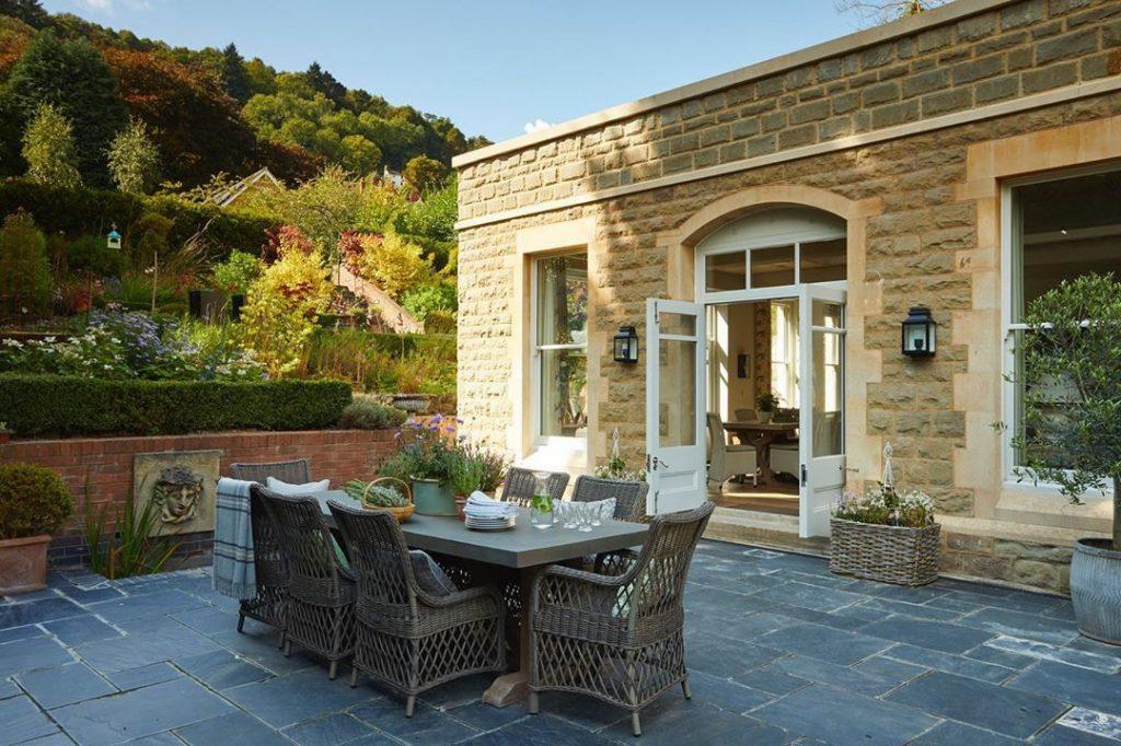 Garden terrace set decor