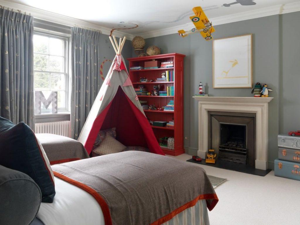 Kids bedroom decor aviation