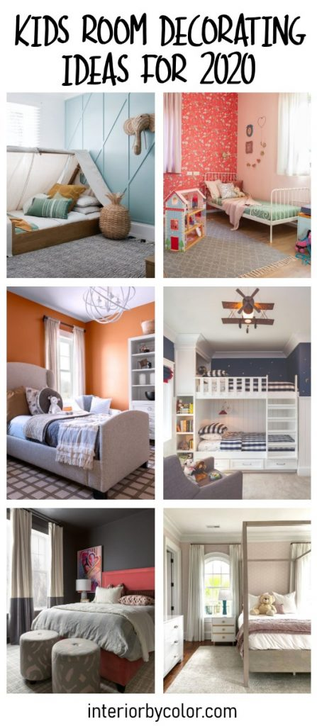 Kids room decorating ideas for 2020 trend