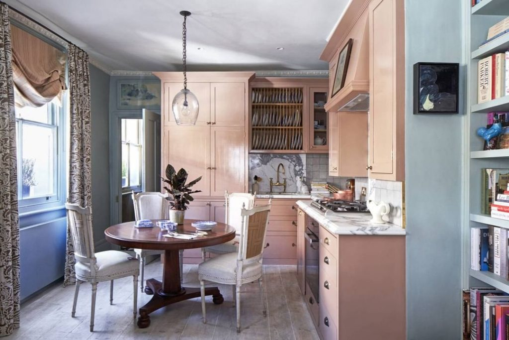 Pink kitchen inspiration 2020
